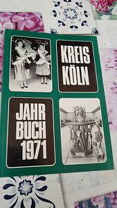 Kreis Köln - Jahrbuch 1971