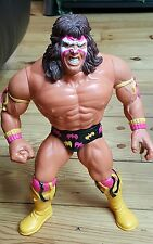"Vintage 1990 HASBRO Talking ULTIMATE WARRIOR 12"" Wrestling Action Figure WWF WWE"