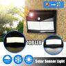 108LED Solar Powere PIR Motion Sensor Security Wall Light Outdoor Garden 3 Modes