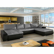 Modern Corner/Sectional Sofa Beds with Spring Mattress