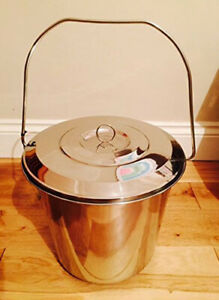 CookSpace 15L Stainless Steel Food Commercial Grade Bucket (dented)