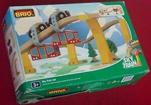 BRIO Sky Train Set - cat. 33925 - Starter Set - Complete & Nice - Look!