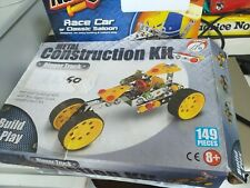 Construction kits x2 meccano type complete digger racecar