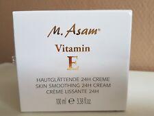 (100 ml/25,95€) M.Asam Vitamin E Hautglättende 24H Creme 100 ml neu