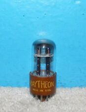 Raytheon 6SN7WGT Tube Elevated D Getter Black Plates Free Shipping