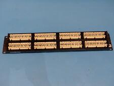Commscope Unp-6A-Dm-2U-48 48-Port Patch Panel Cat6A 110-Mod Ip10 Mod Black