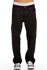 OSCAR JEANS Mens Straight Leg Pants Comfort Fit Denim NWT Black Blue White Gray