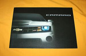 Chevrolet Camaro 2010 Japan Prospekt Brochure Prospetto Depliant Catalog Folder