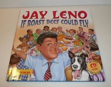 Jay Leno If Roast Beef Could Fly Children's Hardback Book and Audio CD 2004