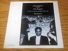 "REGGAE PHILHARMONIC ORCHESTRA - LOVE and HATE      7"" VINYL PS"