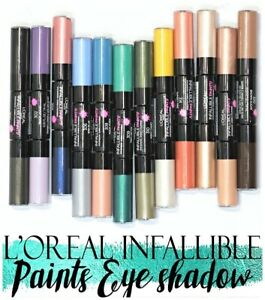 L'Oréal Paris Infallible Paints Eye Shadow-12 colors-Volume discount