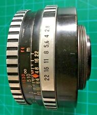 CARL ZEISS JENA 50mm F/2.8 TESSAR M42 Screw Mount Lens - ZEBRA
