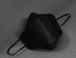 [PACK OF 10] KF94 Black Face Mask NBA Sports 3D Ergonomic Design Made in Korea