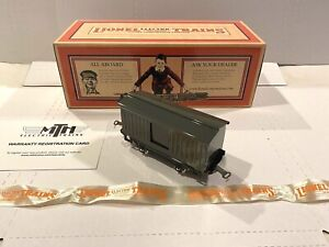 LIONEL ELECTRIC TRAINS-BRAND NEW MINT- No. 900 AMMUNITION ARMOR CAR- O-GAUGE NIB