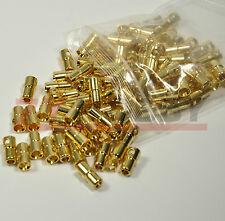 5pairs 6mm Gold Bullet Connector for RC Battery Motor ESC