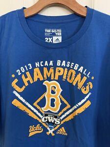 UCLA Bruins 2013 College World Series Champions Blue T-Shirt XXL 2XL