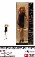 BARBIE BASICS  Collector Black Label #06-101  2009 BNIB with little black dress