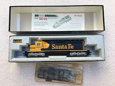 NEW Kato EMD SD40 Santa Fe #5003 HO 37-6327 DCC ready (requires decorder)