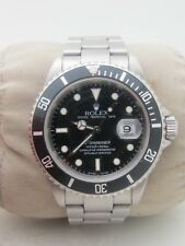 Rolex Submariner Stainless Steel w/ Black Dial Men's # 16610  Box & Papers