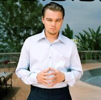 GLOSSY PHOTO PICTURE 8x10 Leonardo Dicaprio With Joined Hands