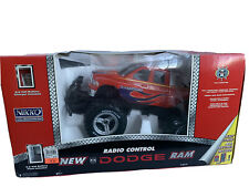Nikko Radio Control New Dodge Ram Truck Red 1/14 Scale New
