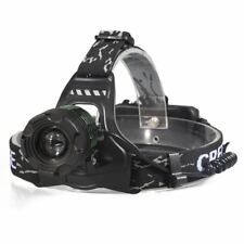 Super Bright LED Head Mounted HeadLamp FlashLight Camping Hiking Hunting Running