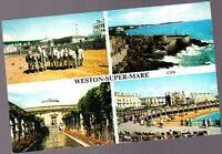 Unused   Postcard Somerset, Multiview Weston Super-Mare