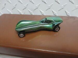Original Vintage Johnny Lightning Topper Green Stiletto