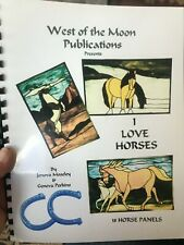 I Love Horses Stained Glass Pattern Book