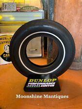 Vintage Dunlop Tires Display Stand Rack Sign - Gas & Oil