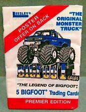 1988 Legend of Bigfoot Monster Truck Premier Edition Unopened Trading Card Pack