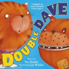 Preschool Story Book - DOUBLE DAVE  by Sue Hendra - NEW