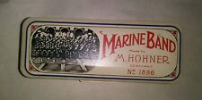 M. Hohner Marine Band Harmonica #1896 Key of C
