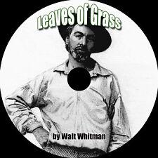 Leaves of Grass, Walt Whitman, MP3 AudioBook 1 CD