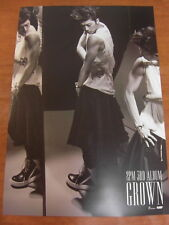 2PM  - [WOOYOUNG] Grown (Version B) [OFFICIAL] POSTER *NEW* K-POP