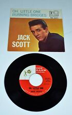 JACK SCOTT ~ Oh Little One / Burning Bridges - Top Rank 2041