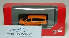 "Herpa 092555 Mercedes-benz VITO Bus ""construction Vehicle"""