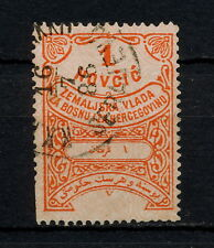 (YYAH 218) Bosnia Herzegovina 1886 Sebajevo cancel Fiscal Revenue Austria