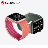 Lemfo Reloj inteligente Llamada Bluetooth Pulsera inteligente Para Android iOS