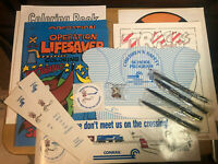 CONRAIL - OPERATION LIFESAVER - for COLLECTOR - 14  ITEMS