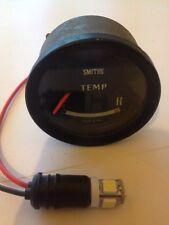 Temperatura del agua probadas Clásico Smiths Calibrador De Temperatura Dial Coche Clásico Negro #303