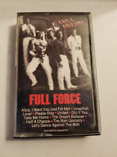 ♫ FULL FORCE SELF TITLED DEBUT CASSETTE, FREE SHIPPING!