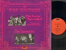 POP HISTORY The LOVIN' SPOONFUL The SPOTNICKS foc 2 LP GATEFOLD