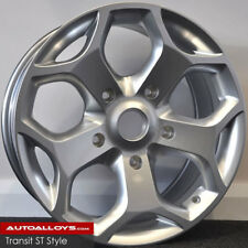 """18"""" ALLOY WHEELS FORD TRANSIT ST STYLE 5X160 LOAD RATED SWB LWB"""