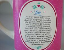Love is Patient Kind Corinthians 13:4-7 Coffee Mug -  Vintage 1987 David Gish