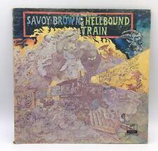 SAVOY BROWN - HELLBOUND TRAIN   LP VINYL RECORD ALBUM