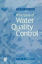 Principles of Water Quality Control by T. H. Y. Tebbutt (1998, Paperback,...