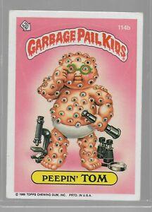 114b Rare OS3 Vintage Retro 1986 Garbage Pail Kids GPK Topps Collection Card 311