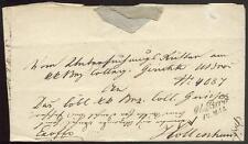 ÖSTERREICH 1852 DIENSTBRIEF von M BROD nach HOLLENHAU(D0976