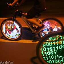 YQ8003 Bicycle Light DIY Programmable LED Wheel Light for 26 inch Bike Wheel US